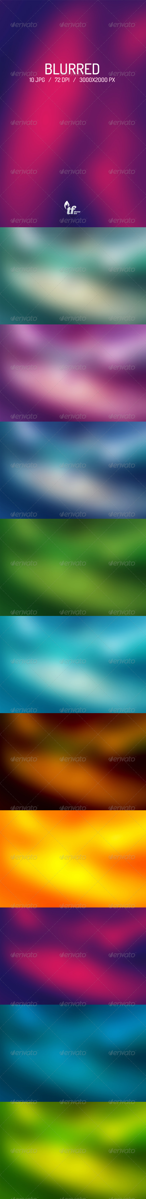 Blurred Backgrounds - Abstract Backgrounds