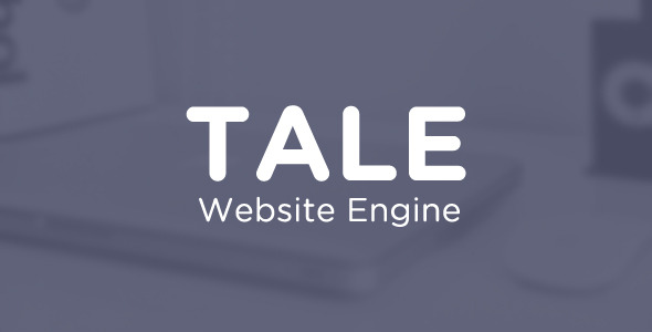 CodeCanyon Tale Website Engine 6560513