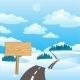 Road in Winter - GraphicRiver Item for Sale