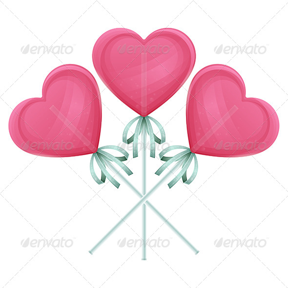GraphicRiver Candy Heart One 6560575