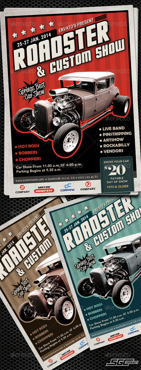 GraphicRiver Autoshow Flyer Template 6560576