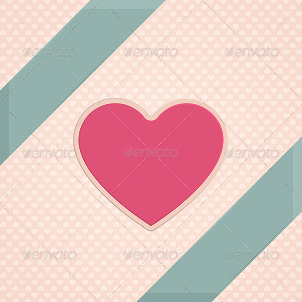 Card Heart One