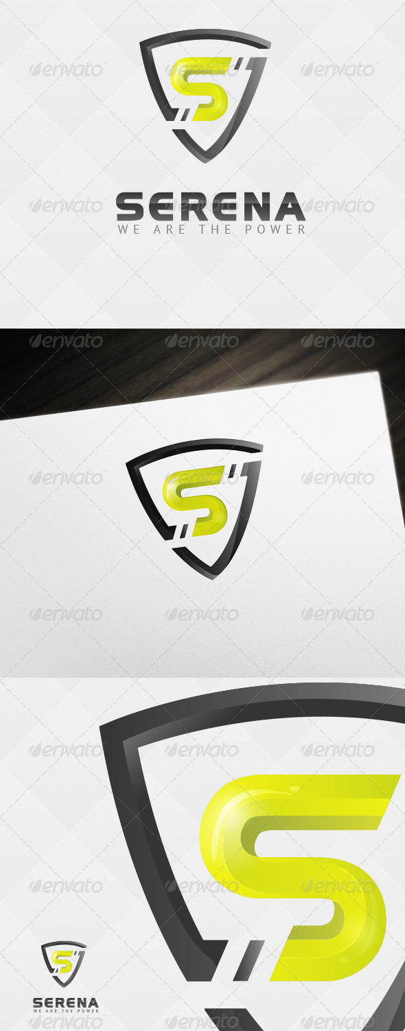 GraphicRiver Security Power Logo 6560844