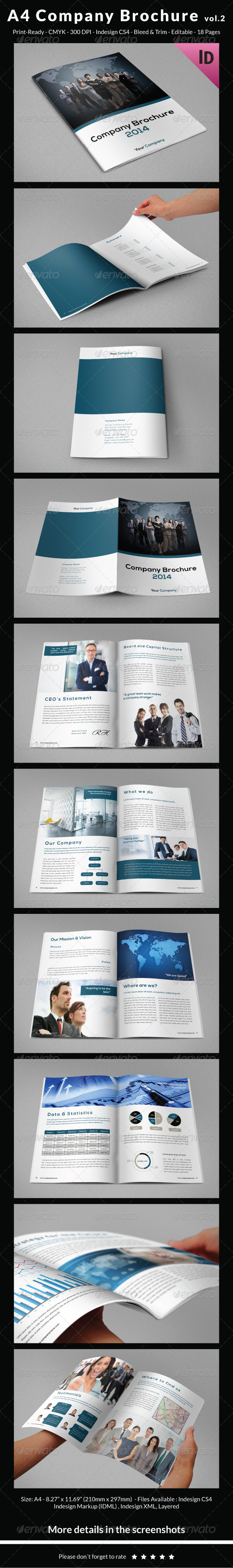 GraphicRiver A4 Company Brochure vol.2 6561098