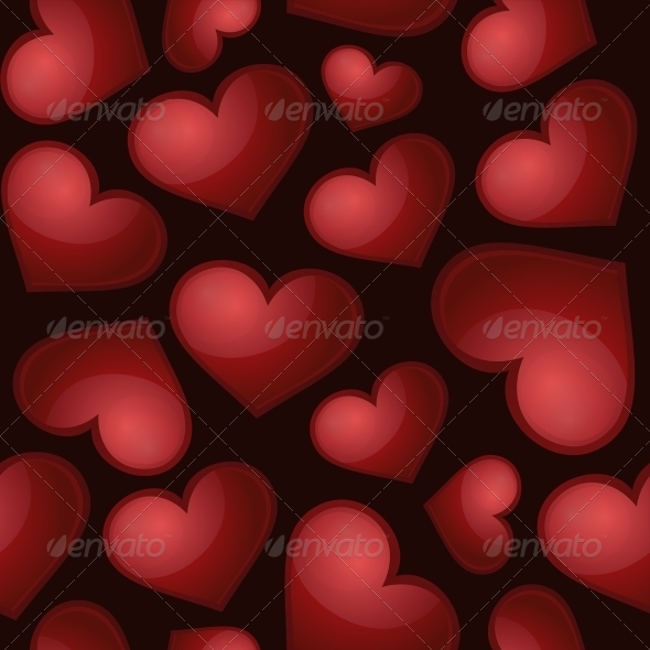 GraphicRiver Heart Pattern 6561175