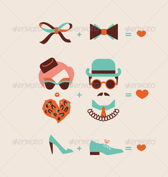 GraphicRiver Man and Woman Couple 6561581