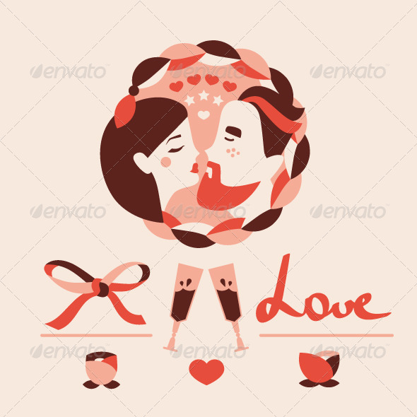 GraphicRiver Love Icons Collection 6561778