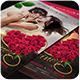 Valentine's Party Flyer Templates 4x6 - GraphicRiver Item for Sale