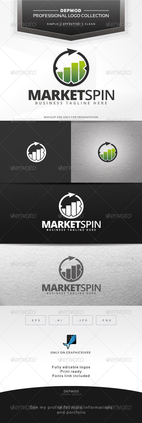 GraphicRiver Market Spin Logo 6562057