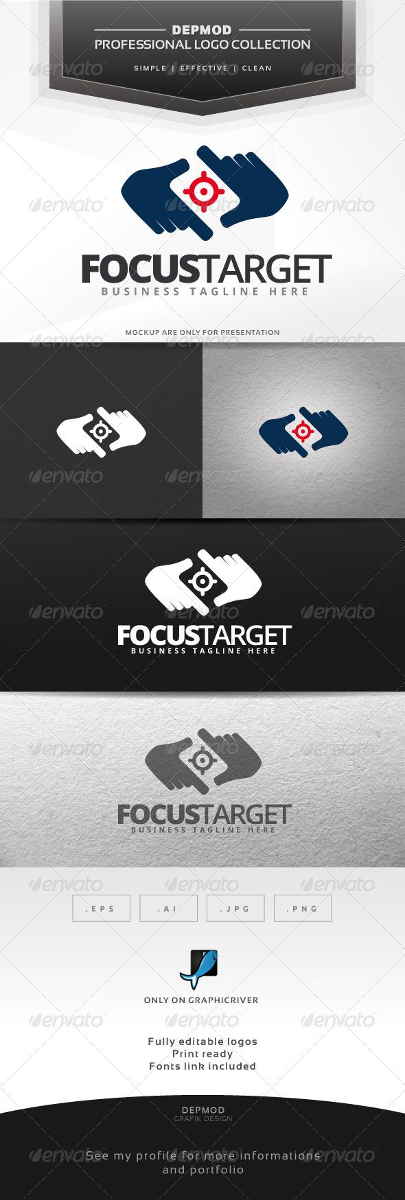 GraphicRiver Focus Target Logo 6562148