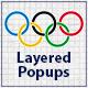Olympischen Winterspiele -Pack für Layered Popups - WorldWideScripts.net Artikel zum Verkauf