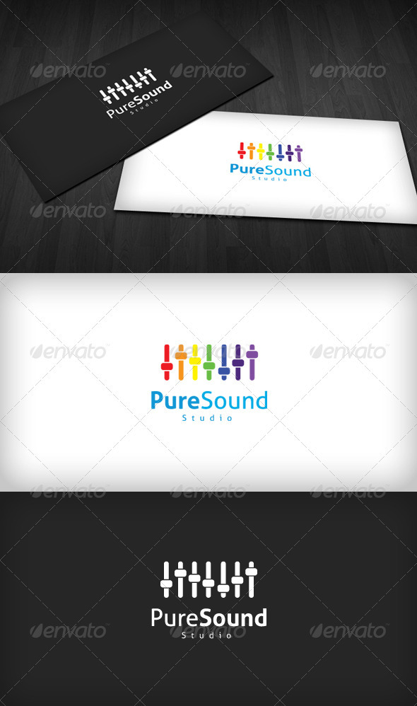 Pure Sound Studio Logo