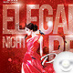 Flyer Elegant Night Red - GraphicRiver Item for Sale