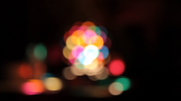 Disco Light Bokeh
