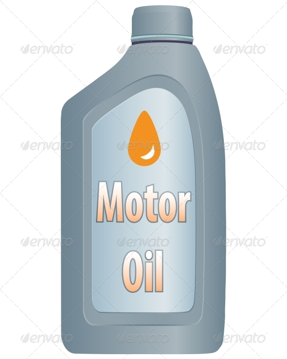 GraphicRiver Motor Oil Bottle 6563198