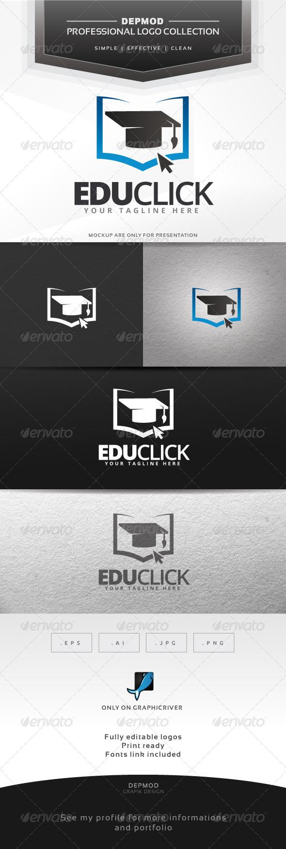 GraphicRiver Edu Click Logo 6563243