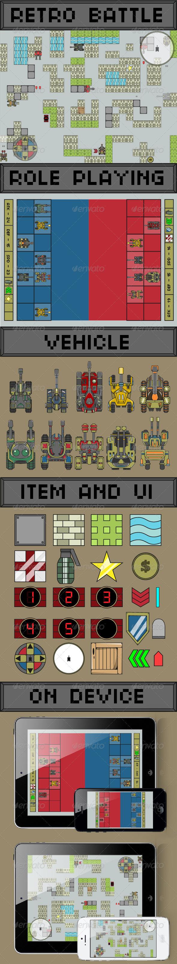 GraphicRiver Tank Mobile Game 6563262