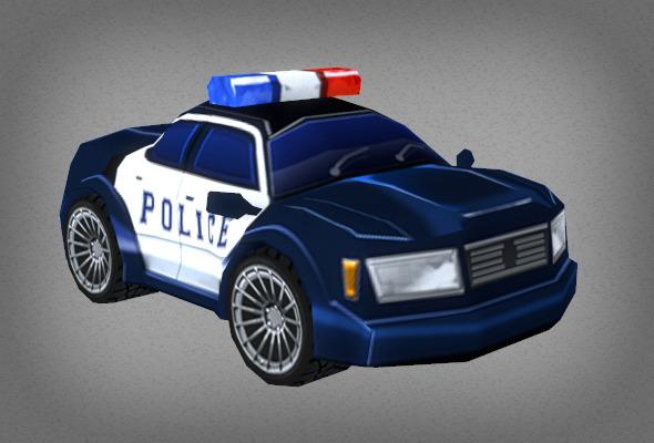 3DOcean Toon Police Car 6564042