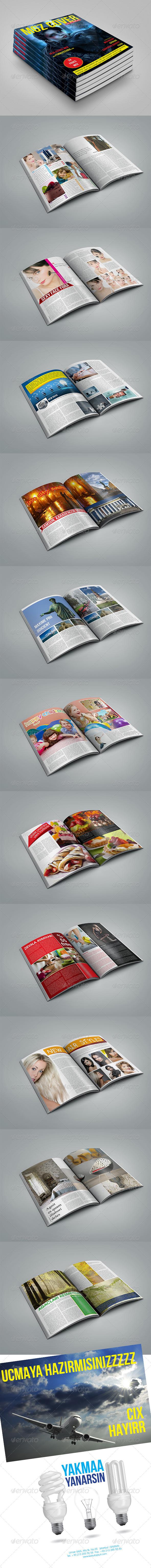 GraphicRiver MGZ Magazine Template 6564485
