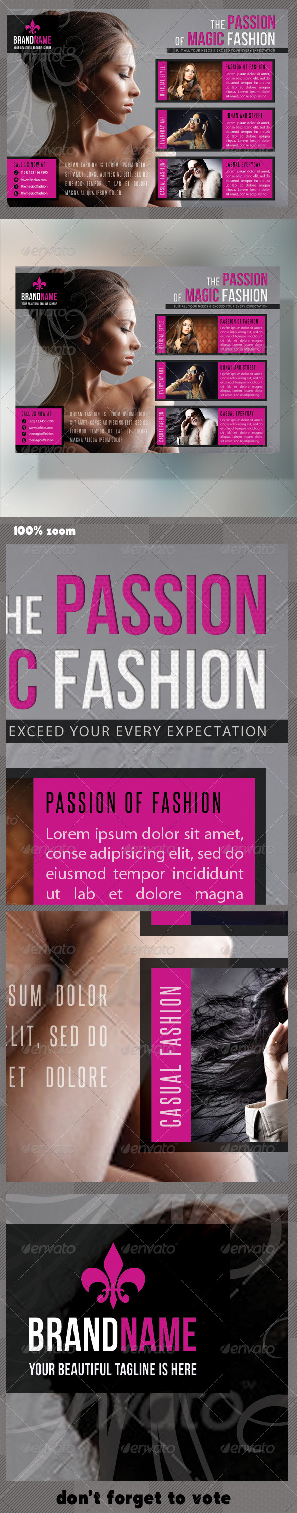 Fashion Product Flyer 29 - Events Flyers