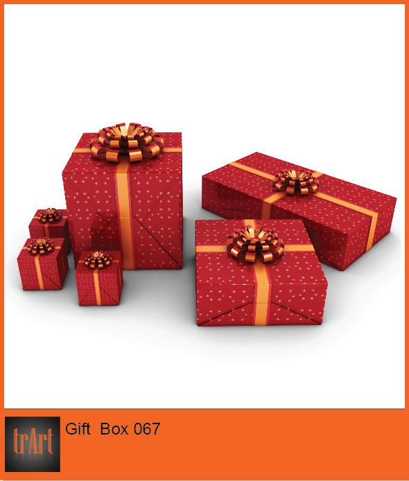 3DOcean Gift Box 6564616