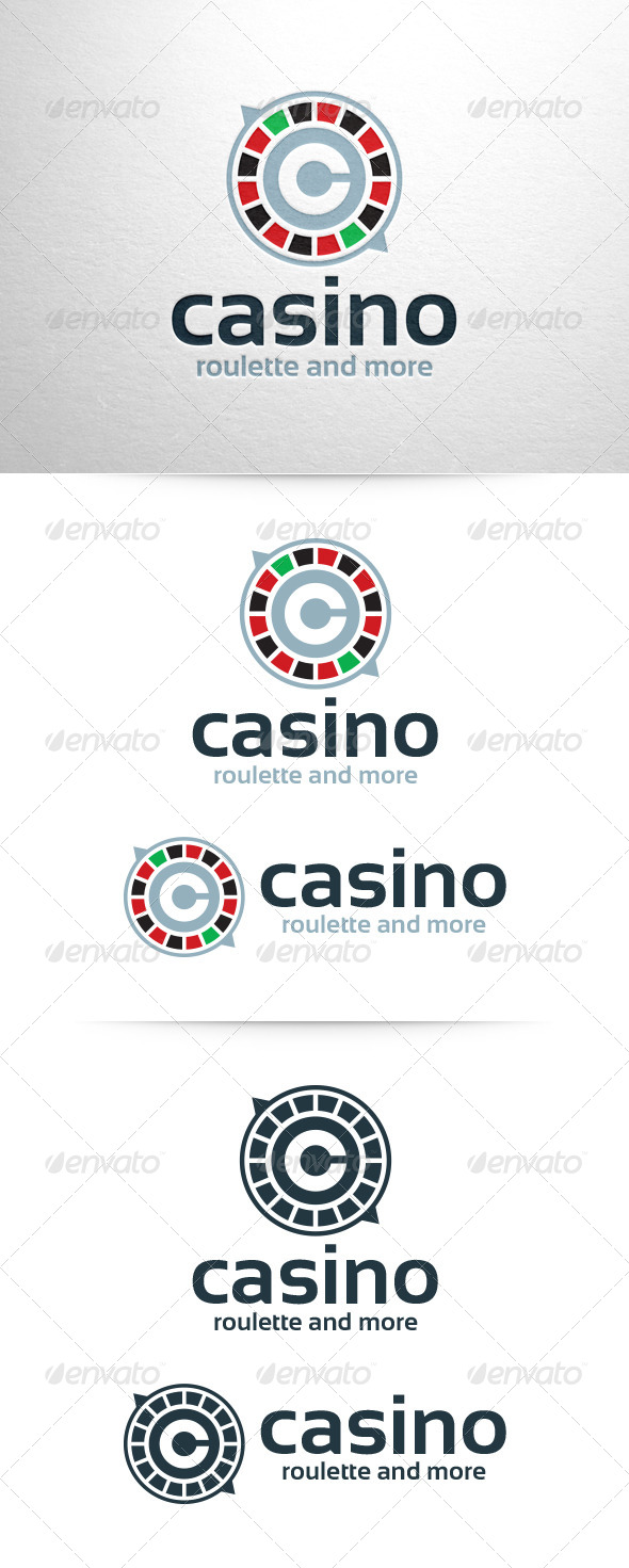 GraphicRiver Casino Logo Template 6565210