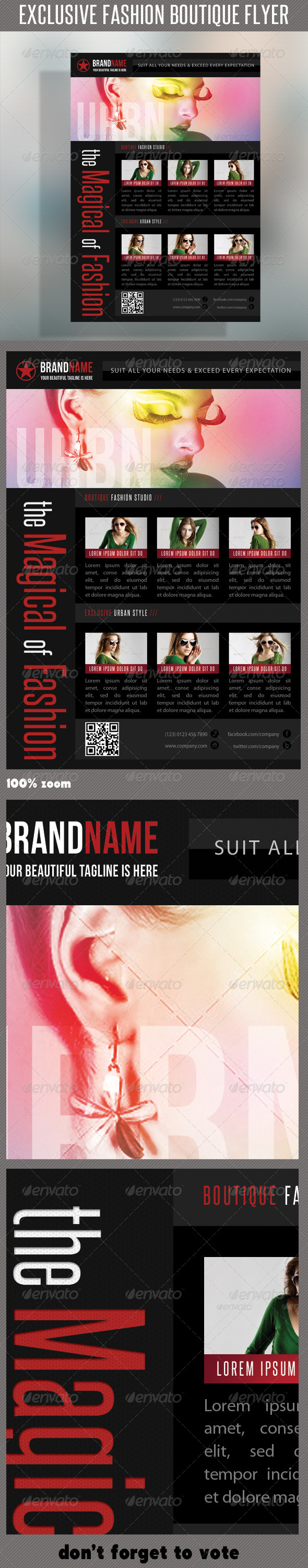 Fashion Product Flyer 30 - Commerce Flyers