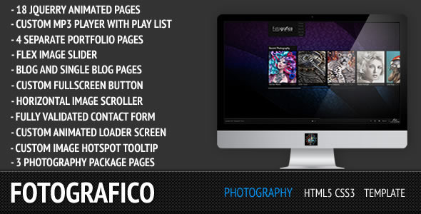 Fotografico Photography Tamplate - Preview Image