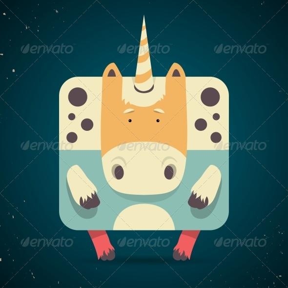 GraphicRiver Unicorn 6567379