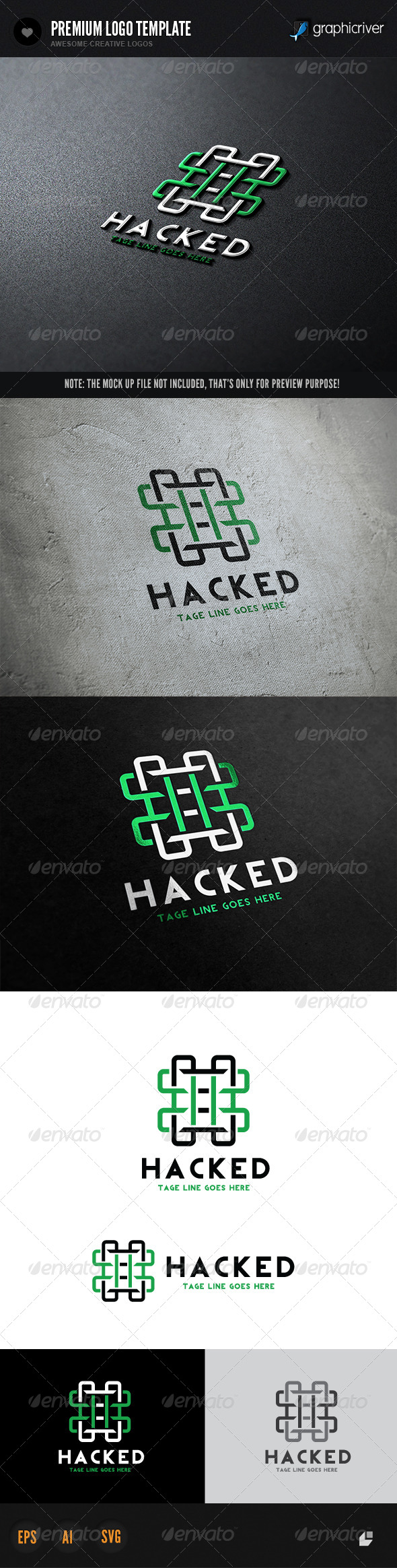 GraphicRiver Hacked Logo 6567614