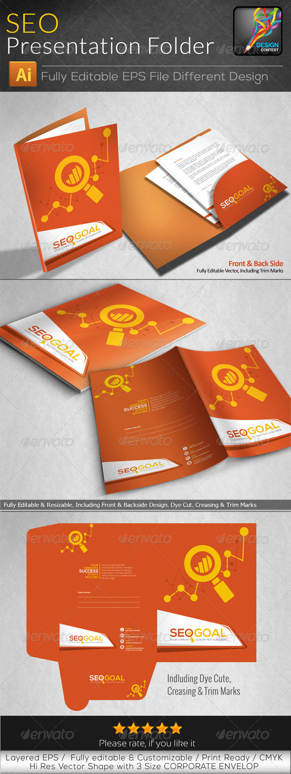 GraphicRiver Seo Goal Search Engine Optimization Presentation 6567663