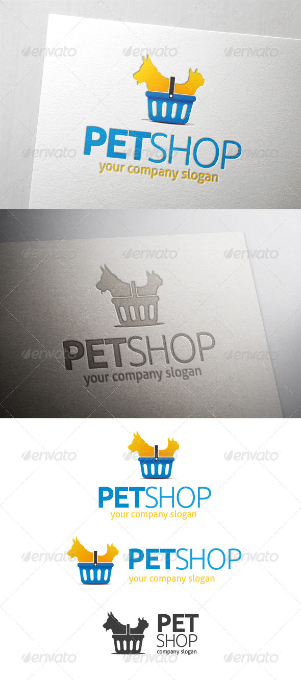 GraphicRiver Pet Shop Logo 6567704
