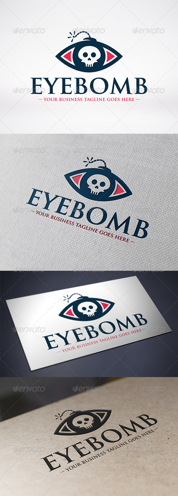 GraphicRiver Eye Bomb Logo Template 6568660