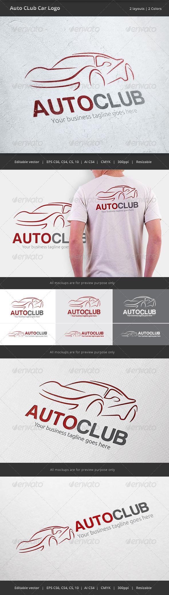 GraphicRiver Auto Club Car Logo 6568679