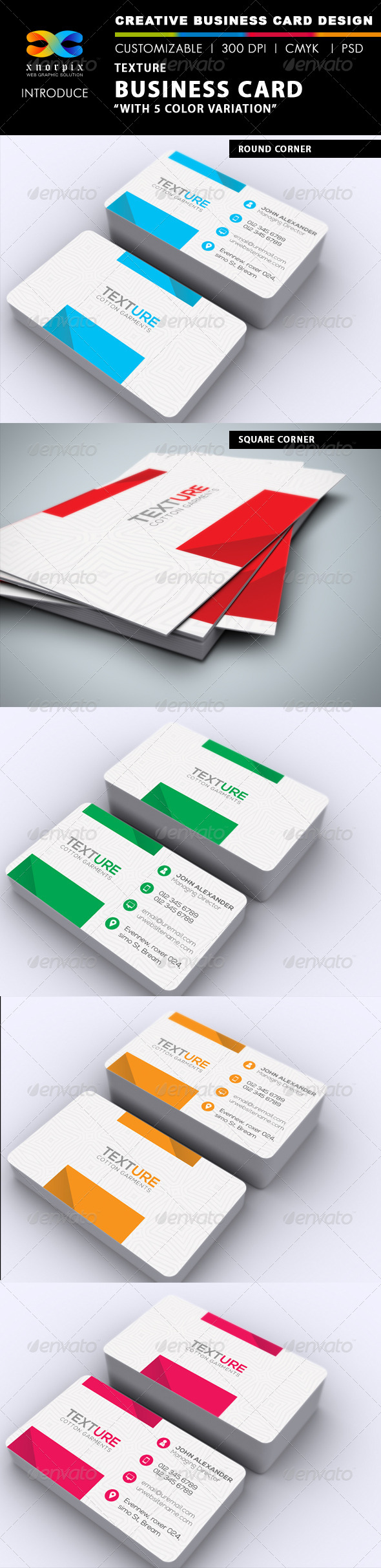 GraphicRiver Texture Business Card 6568767