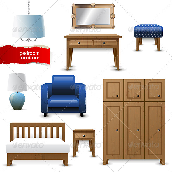 GraphicRiver Bedroom Furniture 6569526
