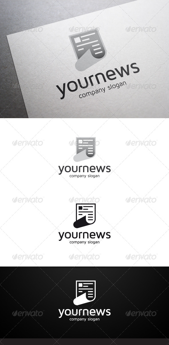 GraphicRiver Your News Logo 6569688