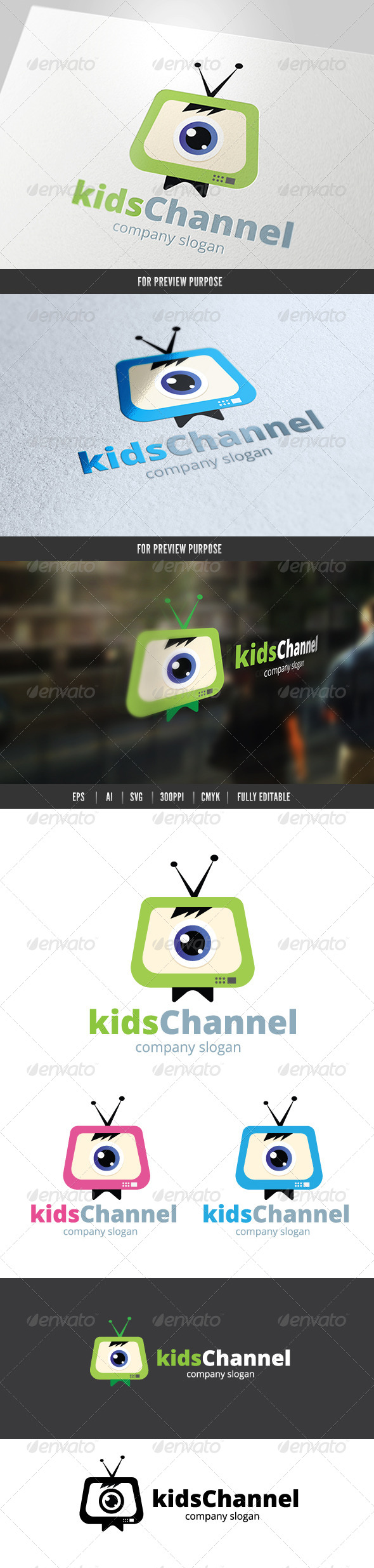 Kids Channel Logo