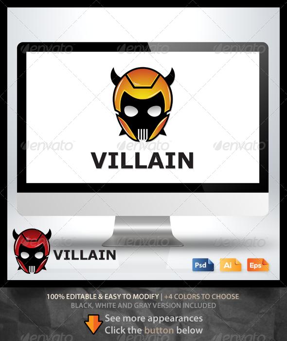 GraphicRiver Villain Logo 6569824
