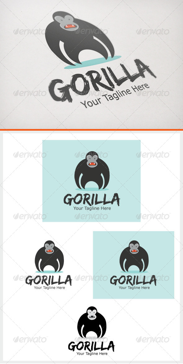 GraphicRiver Gorilla 6570296