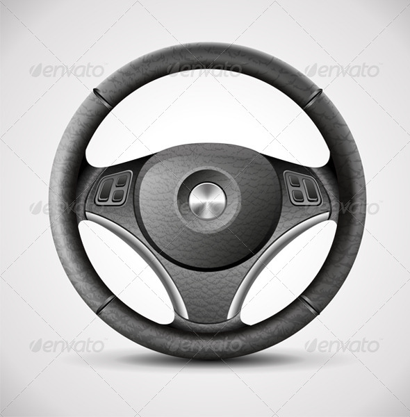GraphicRiver Steering Wheel 6570369