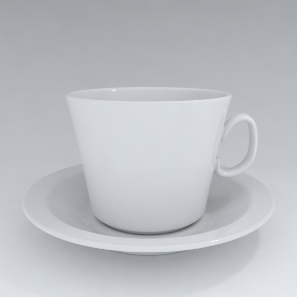 teacup - 3DOcean Item for Sale