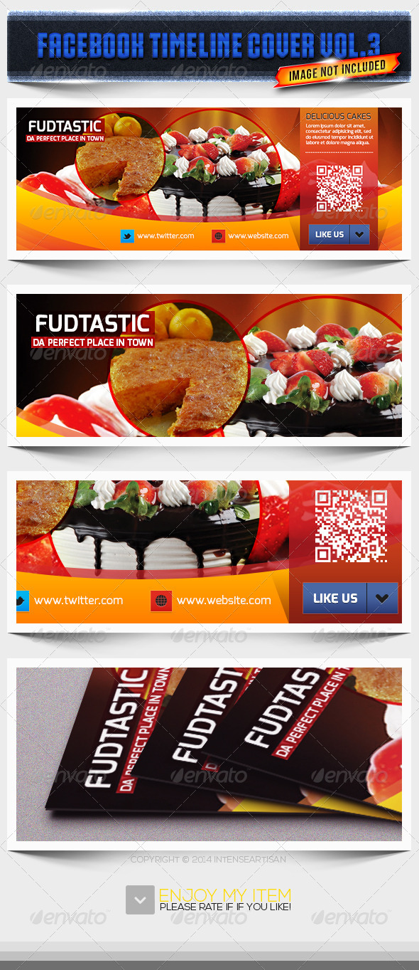 Fudtastic - Facebook Page Cover - Facebook Timeline Covers Social Media