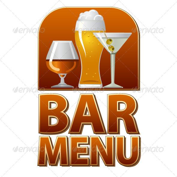 GraphicRiver Bar Menu Cover 6570833