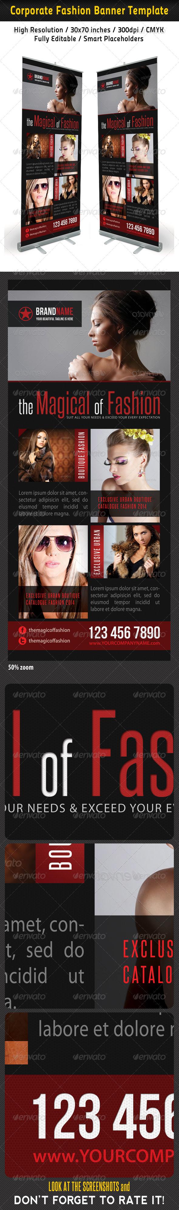 GraphicRiver Fashion Multipurpose Banner Template 25 6570834