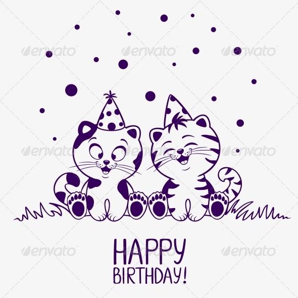 GraphicRiver Kittens Birthday 6571323
