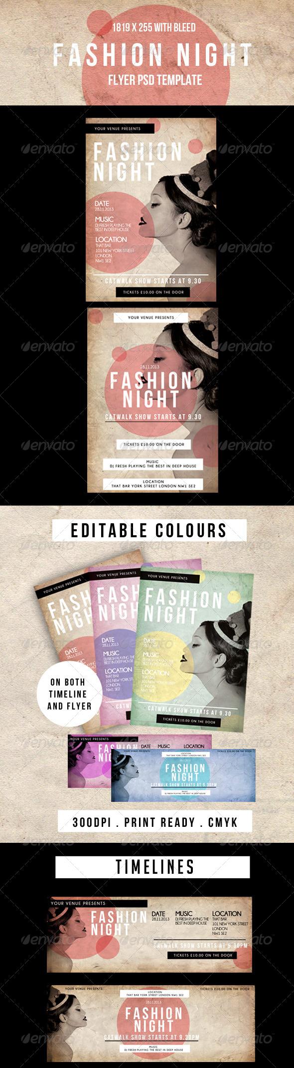 Fashion Night Flyer