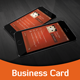 Phone Style Corporate Business Card - GraphicRiver Item for Sale