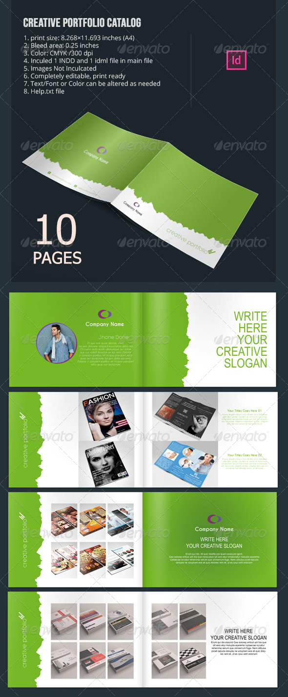 GraphicRiver Creative Portfolio Catalog 6571716