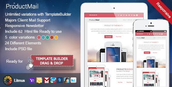 ProductMail - Responsive E-mail Template
